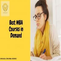 Best MBA Courses in Demand in INDIA UNIGAGA  Best MBA Colleges